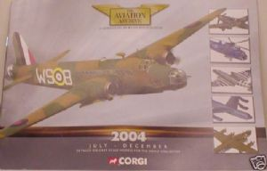 Corgi Aviation 2004 July to December Catalogue